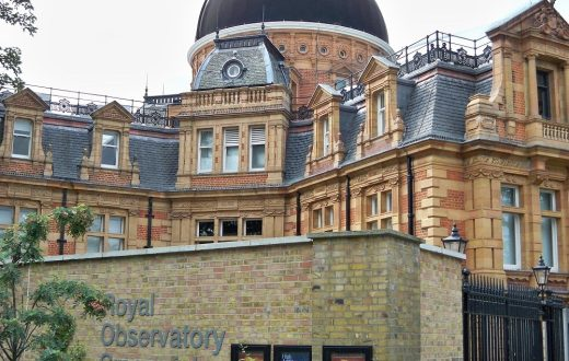 L'Observatoire royal de Greenwich (Londres)
