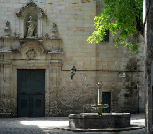 La Place San Felipe Neri - Barcelone