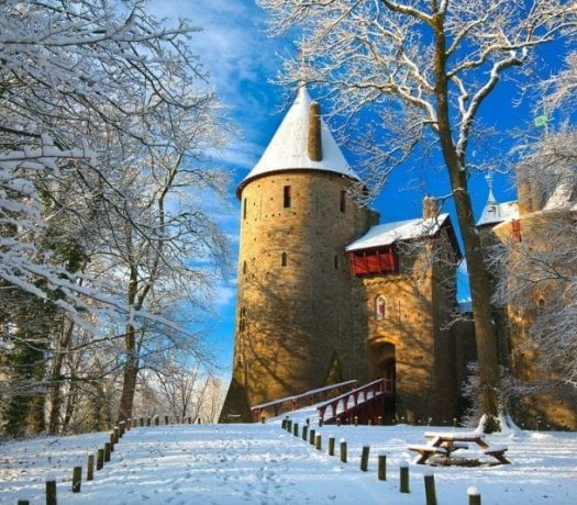 Castle Coch - Royaume-Uni