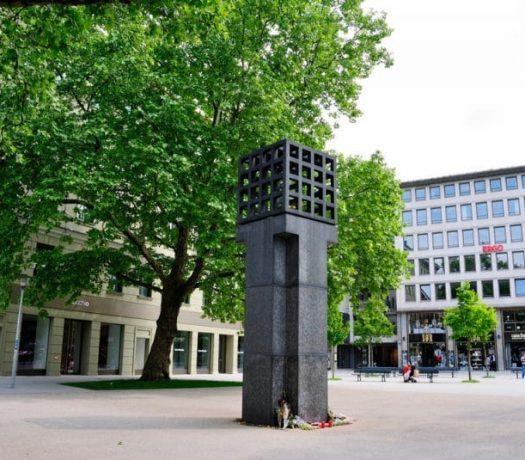 La Place des victimes du national socialisme à Munich