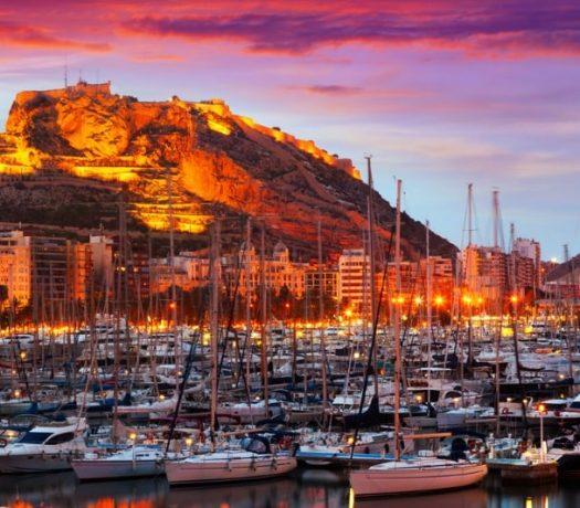 Le Port d'Alicante - Espagne
