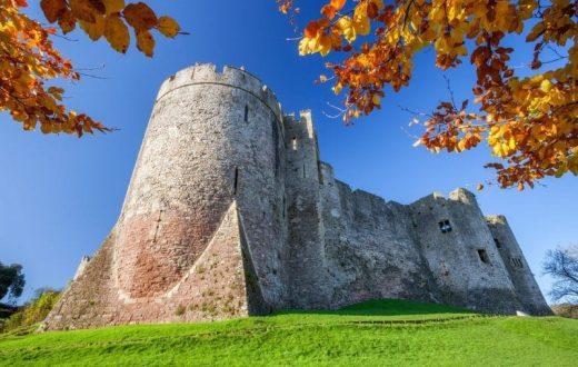 Le château de Chepstow (Pays de Galles)