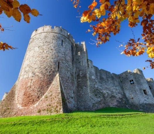 Le château de Chepstow - Royaume-Uni