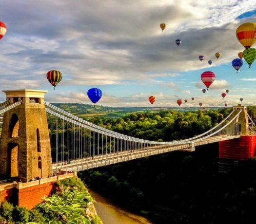 Le pont suspendu de Clifton - Bristol - Royaume-Uni