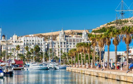 La ville d'Alicante (Espagne)