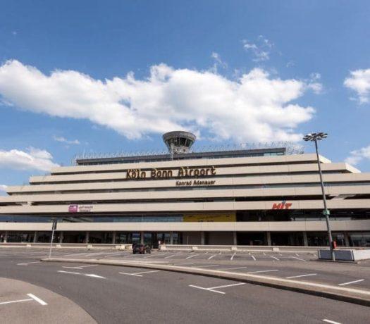 L'aéroport de Cologne-Bonn Konrad Adenauer
