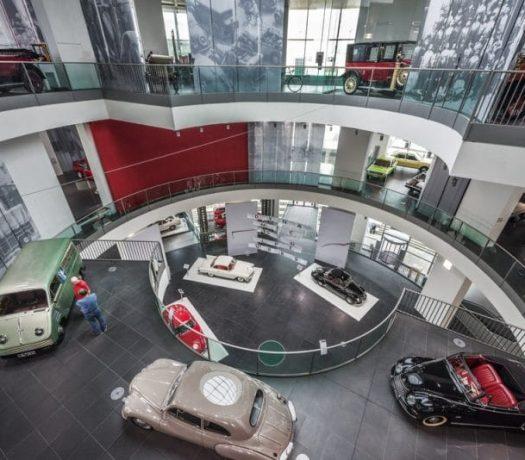 Le musée Audi à Ingolstadt (intérieur)