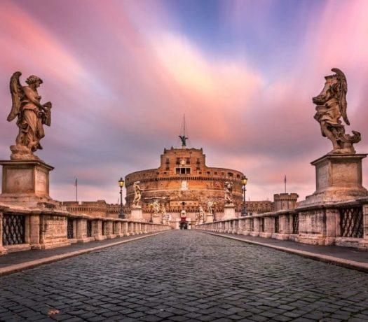 Le château Saint Ange, de Rome