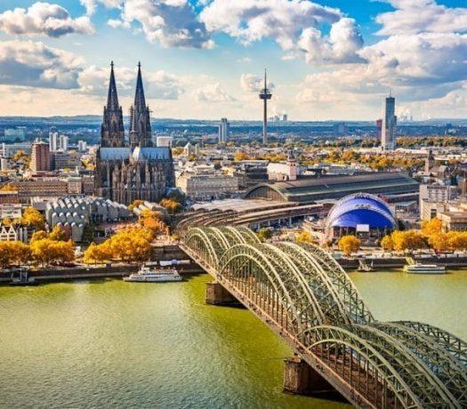 Cologne - vue panoramique