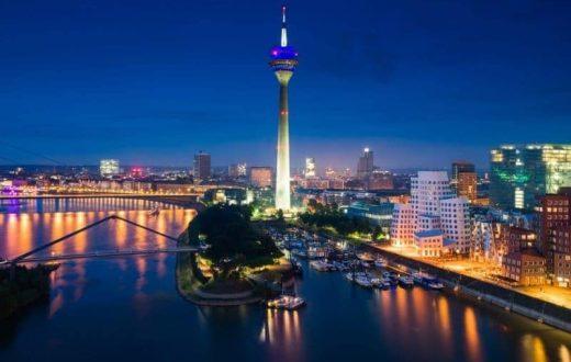 La ville de Düsseldorf