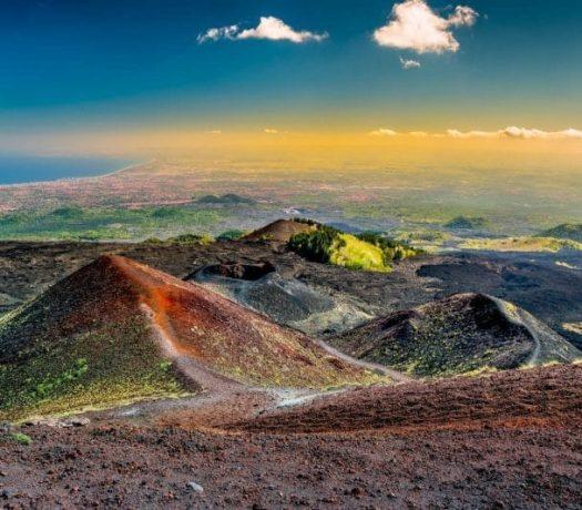 Le volcan Etna, en Sicile