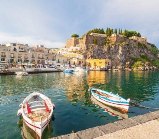L'île de Lipari, en Sicile