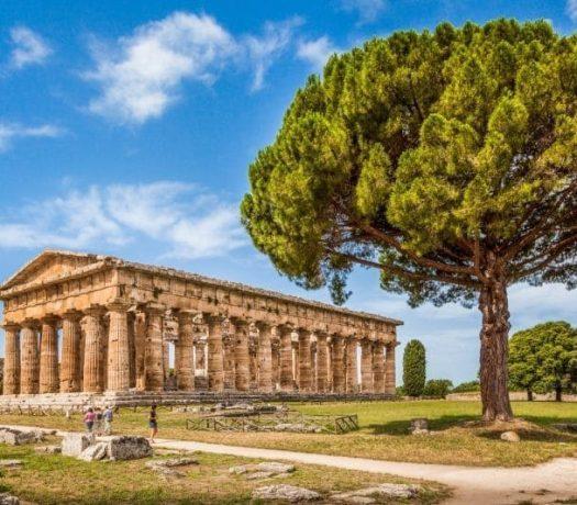 Les temples grecques de Paestum