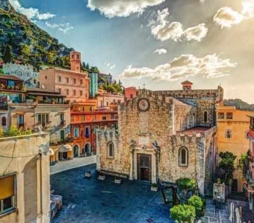 Le centre historique de Taormine
