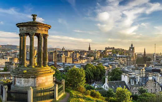La ville d'Edimbourg