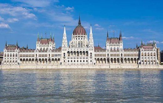 Le quartier de Pest (Budapest)