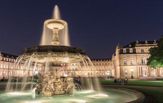 La ville de Stuttgart