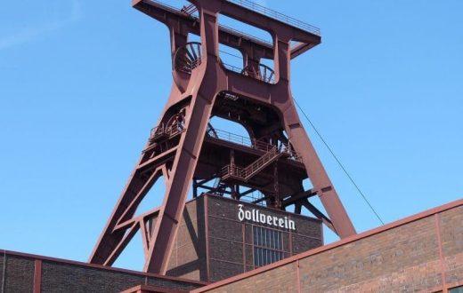 Le complexe industriel de la mine de charbon de Zollverein à Essen