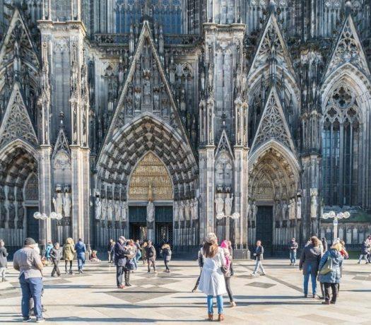 Cathédrale de Cologne - entrée