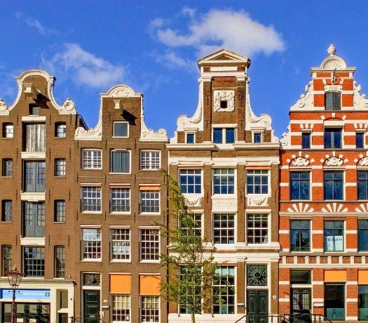 Architecture à Amsterdam, aux Pays Bas
