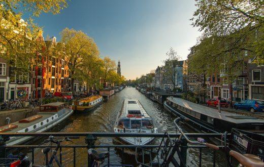 Croisière de découverte sur les canaux d'Amsterdam