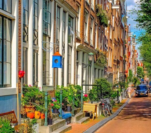 Rue à Amsterdam