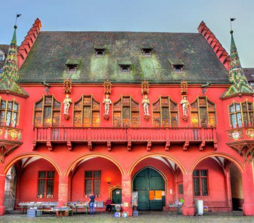 Fribourg - La Maison historique des marchands