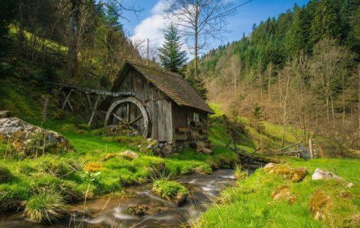 L'écomusée de la Forêt-Noire Vogtsbauernhof à Gutach