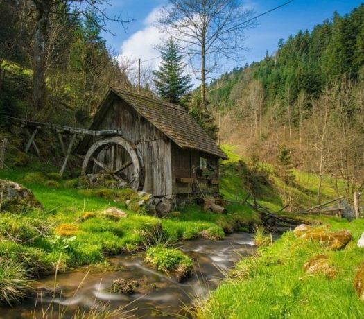 Moulin - région de la Forêt-Noire