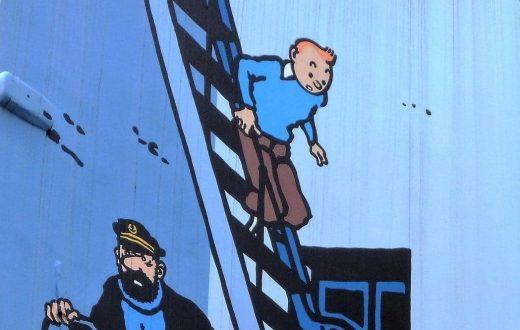 Parcours Hergé et Tintin à Bruxelles