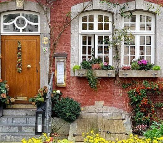 Kornelimünster - façade typique