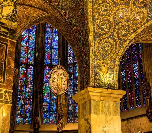 Cathédrale d'Aix-la-Chapelle - intérieur