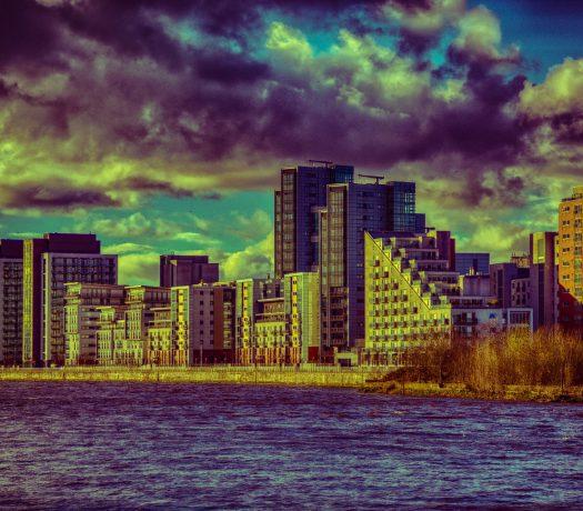La ville de Glasgow