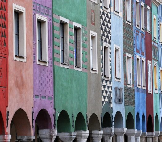 Vieille ville Poznan - architecture