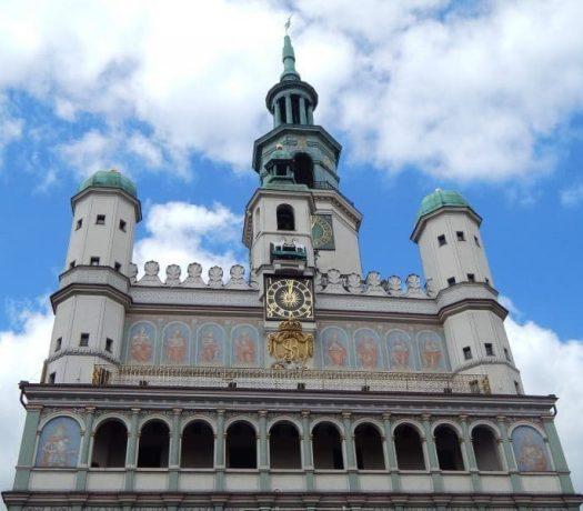 L'hôtel de ville de Poznan