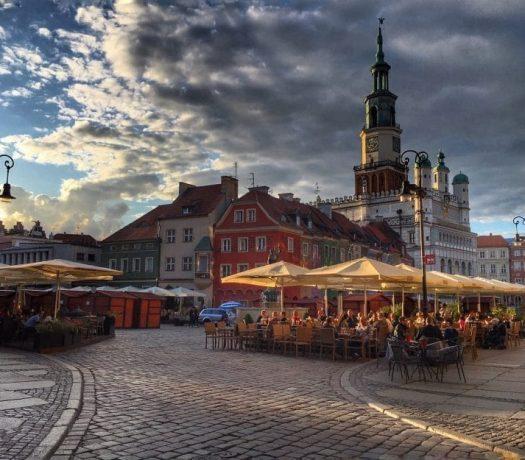 La ville de Poznan