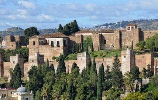 Alcazaba et le château de Gibralfaro