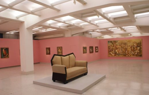Le musée d'art moderne de Prague
