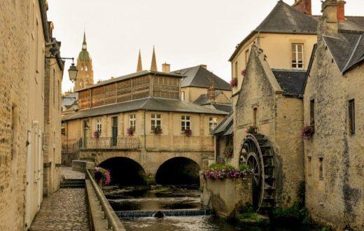 La ville de Bayeux