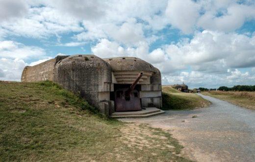 La batterie allemande de Longues-sur-Mer