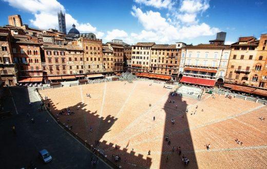Ville de Sienne, Toscane