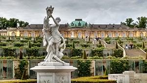 Château de Sans souci à Potsdam