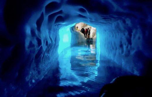 Le glacier de Hintertux