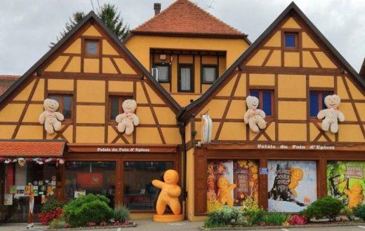 Le Palais du pain d'épices à Gertwiller