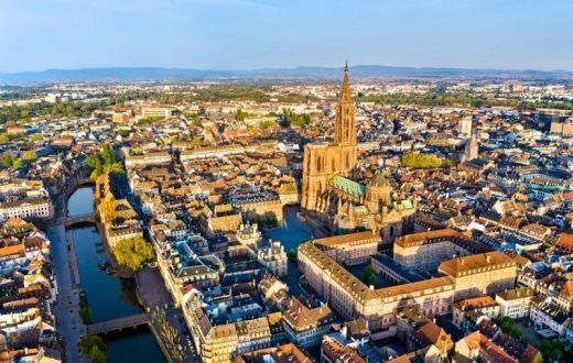 La ville de Strasbourg