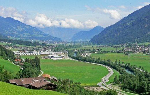 La vallée du Ziller (Le Zillertal)