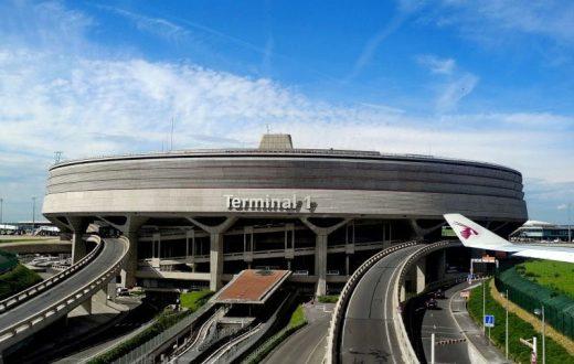Visite de l'aéroport Charles de Gaulle