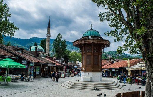 Centre-ville de Sarajevo