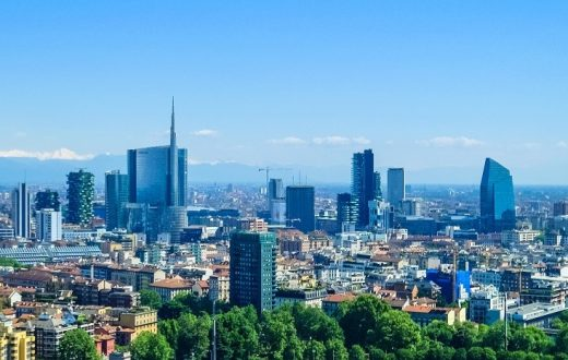 Milan, ville industrielle