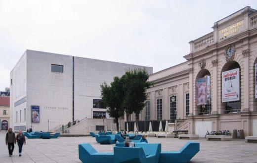 Le quartier des musées à Vienne